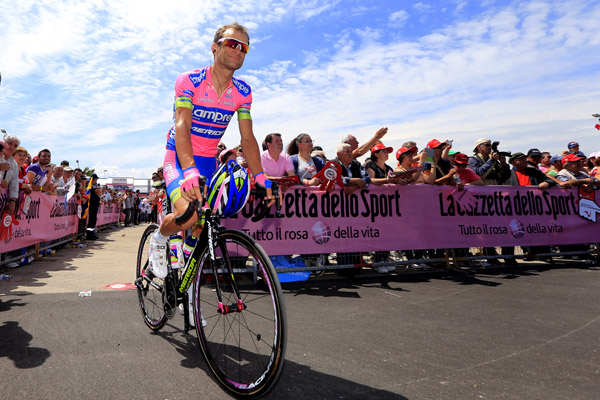 Giro d'Italia 2013 - 7a tappa San Salvo - Pescara 162 km - 10/05/2013 - Michele Scarponi (Lampre - Merida) - foto Luca Bettini/BettiniPhoto©2013