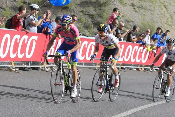 Giro d'Italia 2013 - 11a tappa Tarvisio (Cave del Predil) - Vajont (Erto) 184 km - 15/05/2013 - Michele Scarponi (Lampre - Merida) - foto Luca Bettini/BettiniPhoto©2013