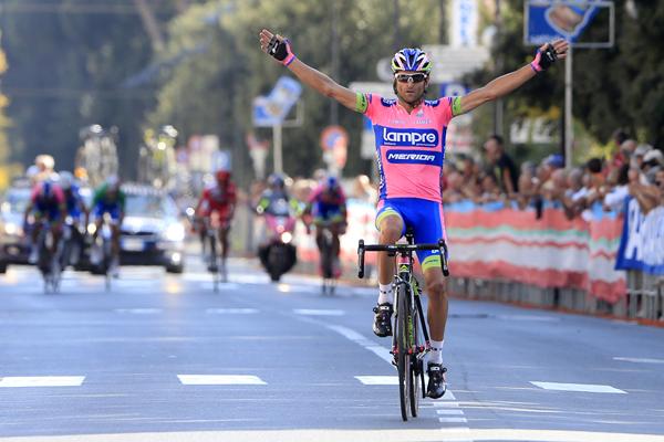 GP Costa degli Etruschi 2013 - San Vincenzo - Donoratico 193 km - 21/09/2013 - Michele Scarponi (Lampre - Merida) - foto Antonio Pisoni/BettiniPhoto©2013