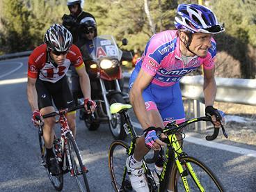 Vuelta a Catalunyai 2011 - Andorra Vallnord  - Michele Scarponi (Lampre - ISD) - Levi Leipheimer (Radio Shack) - BettiniPhoto©2011
