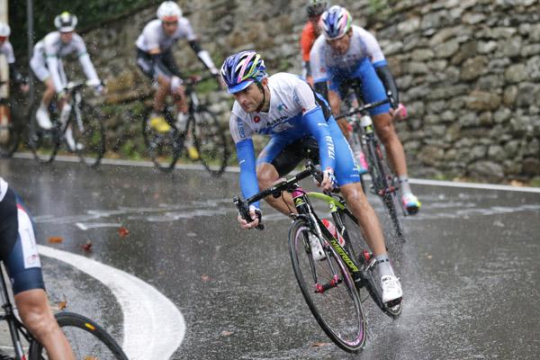 Campionati del Mondo Toscana 2013 - Road World Championship 2013 - Strada Uomini Elite' 272,2 km - 29/09/2013 - Michele Scarponi (Italia) - foto Luca Bettini/BettiniPhoto©2013